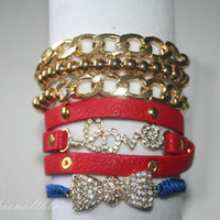 Nautical Inspired Bracelet Bundle