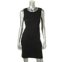Laundry by Shelli Segal Womens Petites Sleeveless Knee-Length Wear to Work Dress