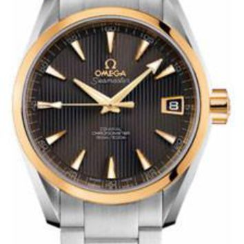 Omega - Seamaster Aqua Terra 150 M Co-Axial 38.5 mm - Steel And Yellow Gold