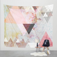 Graphic 3 Wall Tapestry by Mareike Böhmer Graphics
