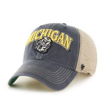 NCAA Michigan Wolverines Tuscaloosa Vintage Clean Up Adjustable Hat