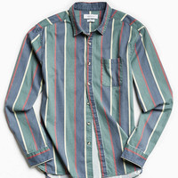 UO 90s Stripe Button-Down Shirt - Urban Outfitters