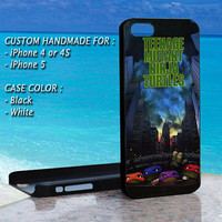 iPhone Case Teenage Mutant Ninja Turtles The Movie, Print On Hard Cover, iPhone 4 Case, iPhone 4S Case, iPhone 5 Case