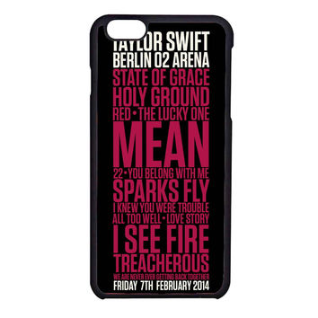 Taylor Swift Red poster FOR IPHONE 6  CASE**AP*