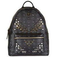 MCM Unisex Stark M Stud Medium Backpack  canada goose men bomber
