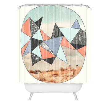 Wesley Bird Dry Spell Shower Curtain