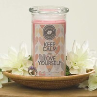 Keep Calm And Love Yourself - Keep Calm Candles