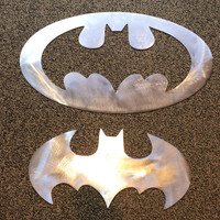 Batman wall hanging includes inside cut out