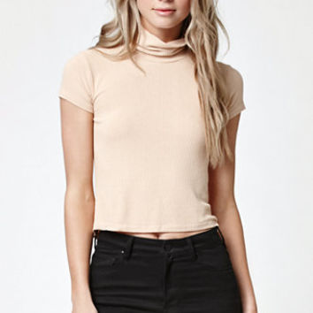 John Galt Karianne Ribbed Turtleneck at PacSun.com