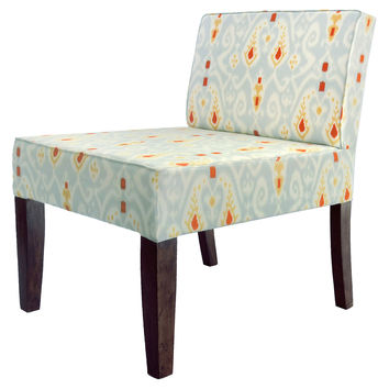 Isabelle Ikat Accent Chair, Accent & Occasional Chairs