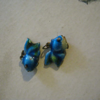 Enameled Gold Fish Charms