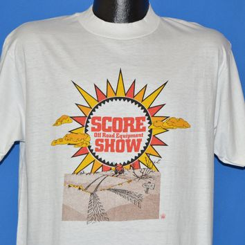 80s Score Off Road Equipment Show t-shirt Large
