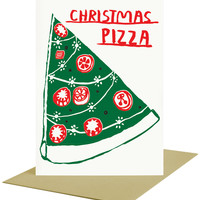 Christmas Pizza - Card