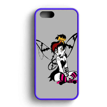 Tinkerbell Gothic iPhone 5 Case Available for iPhone 5 Case iPhone 5s Case iPhone 5c Case iPhone 4 Case