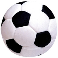Pet Supply Imports Latex Mini Soccer Ball Squeak Dog Toy  2""