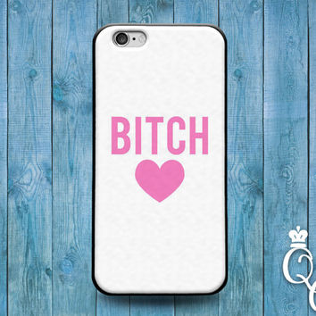 iPhone 4 4s 5 5s 5c 6 6s plus + iPod Touch 5th Generation Cute Girly Girl Woman Pink Fun Quote Heart Cool Cover Custom Funny Fun White Case