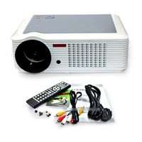 Best Hd Home Theater 1080p Video Digital Lcd Movie Projector Led 20,000hours