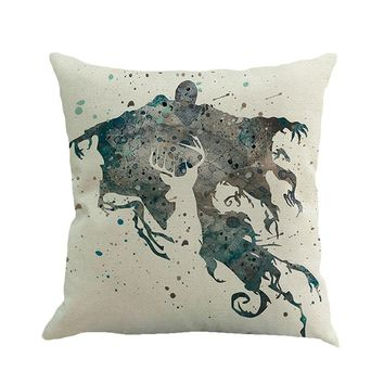 Dementor and Patronus Pillow Cover