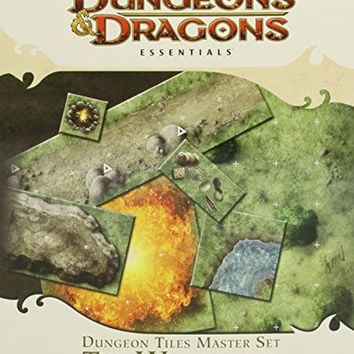 Dungeon Tiles Master Set - The Wilderness: An Essential Dungeons & Dragons Ac...