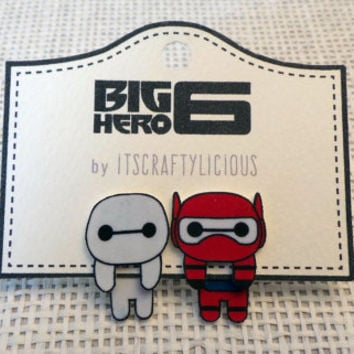 Ear Jacket Earrings: Big Hero 6