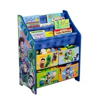 Disney Toy Story Book and Toy Organizer