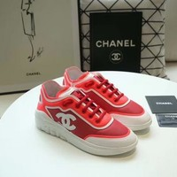 New Fashion Double C Low Top Sneaker Reference #1195 - Beauty Ticks