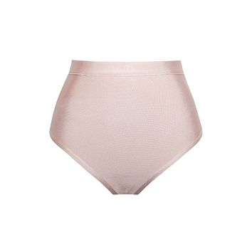 Yeva Nude High Waist Bandage Briefs