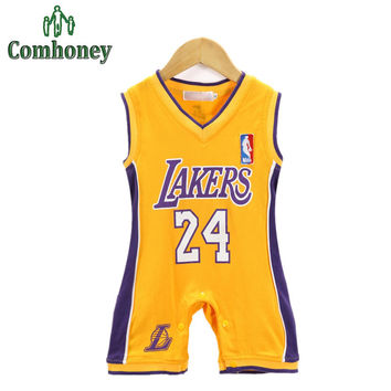 Basketball Baby Sport Rompers Summer One-pieces Baby Boys Clothes Newborn Bebe Jumpsuit For Infant Boys Clothing Baby Costumes