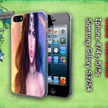 Wonder Woman for iPhone 4/4S/5/5S/5C, Samsung Galaxy S3/S4, iPod Touch 4/5, htc One X/x+/S Case