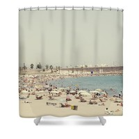 Beach holiday Shower Curtain for Sale by Ivy Ho