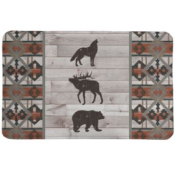 Southwest Lodge Memory Foam Rug