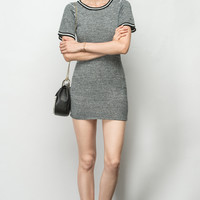 Simple Crewneck Dress DR0413