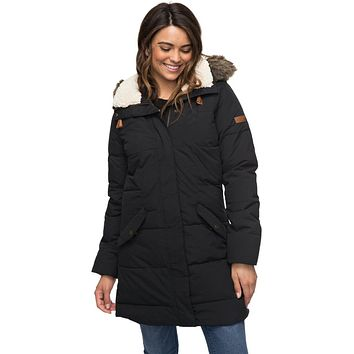 Roxy Ellie Parka - Black