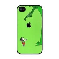 Giving Tree iphone 4 case - Fits iphone 4 & iphone 4s: Cell Phones & Accessories