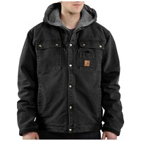 Carhartt Sandstone Hooded Multi-Pocket Jacket - Men's