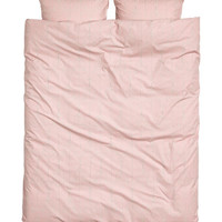 H&M Patterned Duvet Cover Set $59.99