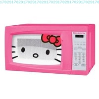 Hello Kitty 0.7 Cubic Feet 700 Watt Microwave - MW-07009 with Mini Tool Box (cog):Amazon:Everything Else