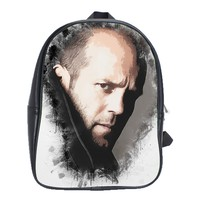 A Tribute To Jason Statham School Bag (large)