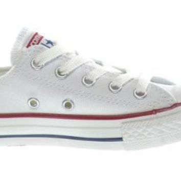 Converse C/T All Star OX Little Kids Fashion Sneakers White