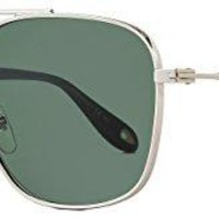 Sunglasses Givenchy Gv 7033/S 0010 Palladium/85 gray green lens
