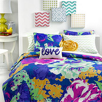 CLOSEOUT! Teen Vogue Isabella Floral Comforter Sets