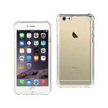 REIKO IPHONE 6 PLUS MIRROR EFFECT CASE WITH AIR CUSHION PROTECTION IN CLEAR