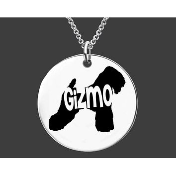 Wheaten Terrier Dog Necklace | Personalized Dog Jewelry