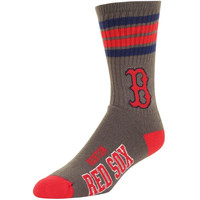 Boston Red Sox Stripe Deuce Performance Socks – Gray