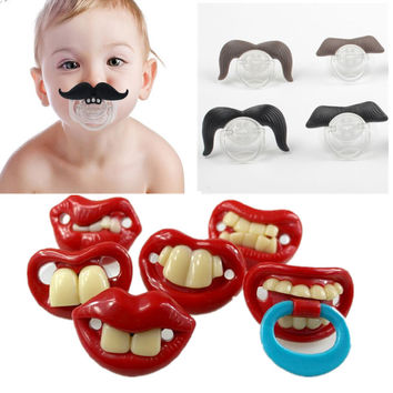 Funny Pacifier Baby Orthodontic Pacifier