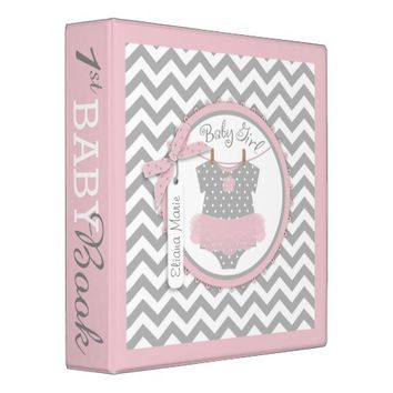 Baby Girl Tutu Memory Book Album Binders