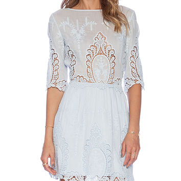 SAYLOR Lissa Dress in Blue