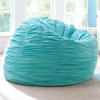 Ruched Pool Beanbag