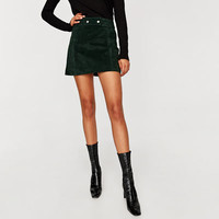 SUEDE MINI SKIRT Look+: 1 of 1