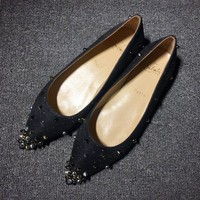DCCK2 Cl Christian Louboutin Flat Style #720